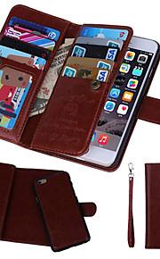 Kılıf Na Apple iPhone 8 iPhone 8 Plus iPhone 6 iPhone 6 Plus iPhone 7 Plus iPhone 7 Etui na karty Portfel Z okienkiem Flip Pełne etui