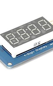 4 Bits Digital Tube LED Display Module with Clock Display TM1637 for Arduino Raspberry PI