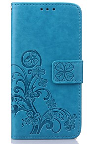 Case For Samsung Galaxy Samsung Galaxy Case Wallet / Card Holder / with Stand Full Body Cases Flower PU Leather for S8 Plus / S8 / S7 edge