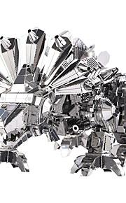 Zabawki 3D Puzzle Metalowe puzzle Zabawki Dinozaur 3D DIY Dziecięce Sztuk