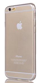 Kılıf Na Apple iPhone 6 iPhone 6 Plus iPhone 7 Plus iPhone 7 Przezroczyste Czarne etui Solid Color Miękkie TPU na iPhone 7 Plus iPhone 7