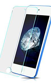 Προστατευτικό οθόνης Apple για iTouch 5/6 Σκληρυμένο Γυαλί 1 τμχ Προστατευτικό μπροστινής οθόνης Έκρηξη απόδειξη Κυρτό άκρο 2,5D Υψηλή