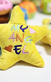 Kattelegetøj Hundelegetøj Kæledyrslegetøj Blødt Legetøj Stjerne