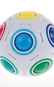 Rubiks terning YongJun Magiske regnbuekugler Let Glidende Speedcube Magiske regnbuebolde Puslespilsbold Puslespil Terning Professionelt