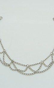 Dame Ankel/Armbånd Legering minimalistisk stil Mode Europæisk Smykker Til Daglig Afslappet