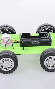 Crab Kingdom Model Assembled DIY Handmade Green Car ordinary