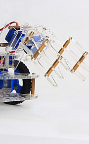 Crab Kingdom 4 DOF Three-dimensional Rotating Mechanical Arm 99 Robot DIY Teaching Kit structure