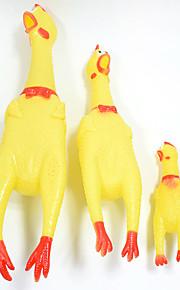Игрушка для очистки зубов Игрушки с писком Скрип Курица и цыпленок Цыпленок Ластик Назначение Кошка Собака