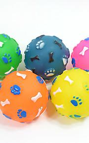 Игрушка для очистки зубов Игрушки с писком Скрип Кость Шарообразные Ластик Назначение Кошка Собака