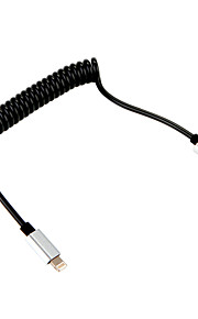 USB 3.0 Adaptador de cable USB Retráctil Cable Para Apple 28 cm CLORURO DE POLIVINILO