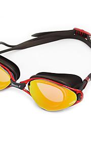 Swimming Goggles Anti-Fog Anti-Wear Waterproof Adjustable Size Anti-UV Scratch-resistant Shatter-proof Anti-slip Strap Plating Silica Gel