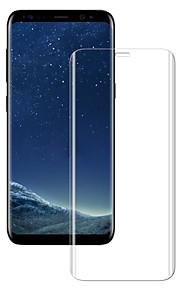 Näytönsuojat Samsung Galaxy varten S8 Karkaistu lasi 1 kpl Koko laitteen suoja 9H kovuus Teräväpiirto (HD)
