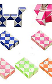 Rubiks terning Slangekube 3*3*3 Let Glidende Speedcube Slangekube Pædagogisk legetøj Puslespil Terning Glat klistermærke Kvadrat Gave