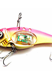 "1 pcs Hard Bait Metal Bait Fishing Lures Hard Bait Metal Bait Trolling Lure Assorted Colors g/Ounce,80 mm/3-1/4"" inch,MetalBait Casting"