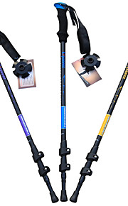 3 Nordic Walking Poles 135cm (53 Inches) Damping Foldable Adjustable Fit Light Weight Aluminum Alloy 7075Camping & Hiking Snowshoeing