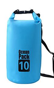 10 L Waterproof Dry Bag Dry Bag Waterproof Wearable for Climbing Swimming Beach Camping & Hiking