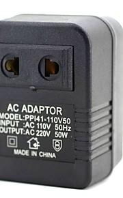 Pp141 entrada do adaptador ac110v saída ac 220v 50w