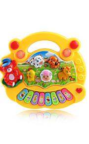 Musikalsk legetøj Toy Instruments Legetøj Klaver Plastik 1 Stk. Unisex Gave