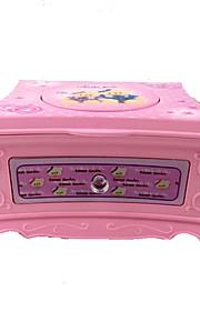 Caixa de música Light Up Toys Brinquedos Quadrada Peças Para Meninas Aniversário Dom