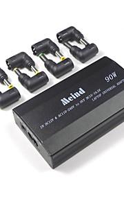 ユニバーサル・ラップトップ・アダプター505s-90w 3つの穴、8つのコネクターでラインを接続車と自宅で二重使用