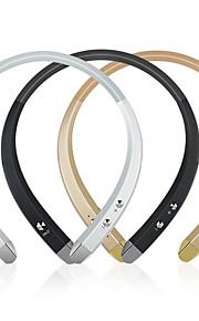 913 słuchawki przewodowe na szyję elektrostatyczne sportowe z tworzyw sztucznych&słuchawki fitness z kontrolą głośności