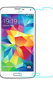 Vetro temperato Proteggi Schermo per Samsung Galaxy S5 Proteggi-schermo frontale Alta definizione (HD) Durezza 9H Estremità angolare a