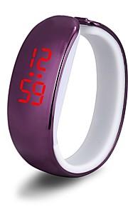 Homens Digital Relógio de Pulso Relógio de Moda Chinês Relógio Casual Aço Inoxidável Banda Amuleto Branco Vermelho Dourada Roxa