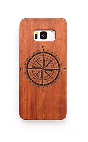 For Case Cover Shockproof Back Cover Case Other Hard Wooden for Samsung Galaxy S8 Plus S8