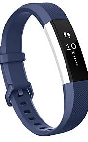 Faixa de pulseira de substituição de alta qualidade fitbit alta com fivela metálica segura para fitbit alta hr-deep blue