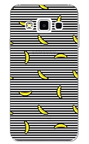 For Case Cover Pattern Back Cover Case Lines / Waves Fruit Soft TPU for Samsung Galaxy A3(2017) A5(2017) A7(2017) A7(2016) A5(2016) A8