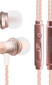 JTX X13 I øret Ledning Hovedtelefoner Dynamisk Mobiltelefon øretelefon Støj-isolering Med Mikrofon Headset