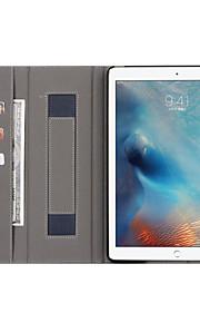 Custodia Per Apple iPad Pro 12.9 '' A portafoglio Porta-carte di credito Con supporto Integrale Tinta unica Resistente Similpelle per