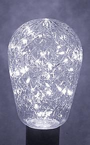 1 stk 2W E27 LED-globepærer 40 leds Dekorativ Varm hvit Kjølig hvit Blå Grønn 200-300lm 2800-3200/6000-6500