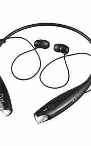 hbs-730 i ørehalsbånd trådløse hovedtelefoner dynamisk plast mobiltelefon øretelefon med mikrofon med lydstyrke headset