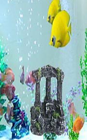 Оформление аквариума Орнаменты Искусственная Каучук