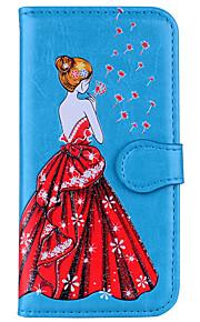 Custodia Per Samsung Galaxy S8 Plus S8 A portafoglio Con chiusura magnetica A calamita Fantasia/disegno Decorazioni in rilievo Integrale