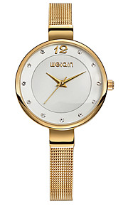 Women's Casual Watch Fashion Watch Dress Watch Japanese Quartz Chronograph Water Resistant / Water Proof Stainless Steel Band Casual