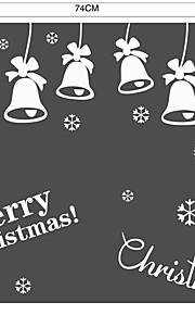 Jul Musik Ord & Citat Väggklistermärken Väggstickers Flygplan Väggstickers i 3D Dekrativa Väggstickers Bröllopstickers,Papper Vinyl