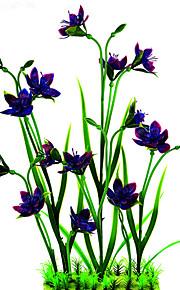 Aquarium Dekoration Blume Keramik
