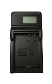 Ismartdigi 10L LCD USB Camera Battery Charger for Canon NB-10L G1X G3X G15 G16 SX40 SX50HS SX60HS - Black