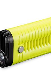 MT22A LED Lommelygter Uniformssnor til lommelygte LED 260 lm 3 Tilstand - Bærbar Vandtæt for Camping/Vandring/Grotte Udforskning