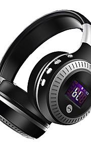 Zalot b19 bezprzewodowy zestaw słuchawkowy bluetooth wyświetlacz lcd zestaw słuchawkowy bass słuchawki z mikrofonem radio fm micro-sd tf