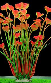 Dekoracja Aquarium Roślina wodna Dekoracja Tworzywa sztuczne Powlekany porcelną
