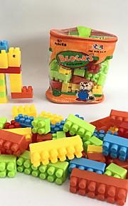 GDS-set Byggklossar Leksaker Elefant Djur Djur Form tecknad Shaped Djur Familj Handväskor Tecknade leksaker Tecknad design GDS (Gör det