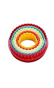 Kuchenformen Kreisförmig Rechteckig Für Kochutensilien Kunststoff Künstlerisch