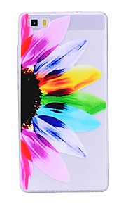 Case For Huawei P8 Lite (2017) P10 Lite Transparent Pattern Back Cover Flower Soft TPU for Huawei P10 Lite Huawei P9 Lite Huawei P8 Lite