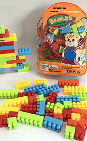 GDS-set Byggklossar Leksaker Tecknat tecknad Shaped Familj Tecknade leksaker Tecknad design GDS (Gör det själv) 110 Bitar