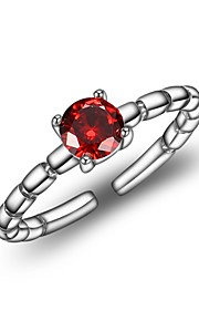 Dame Manchet ring Simple Koreansk Zirkonium Geometrisk form Smykker Til Anden Daglig