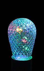 ywxlight® e27 1w 12led 5.0 rgb ledet lysstrengpære baller for ferie dekorasjon ac 85-265v