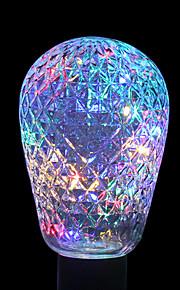 ywxlight® e27 2w 40led 8.0 rgb ledet lysstrengpære baller for ferie dekorasjon ac 85-265v